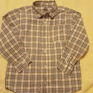 GYMBOREE dress shirt size 5-6